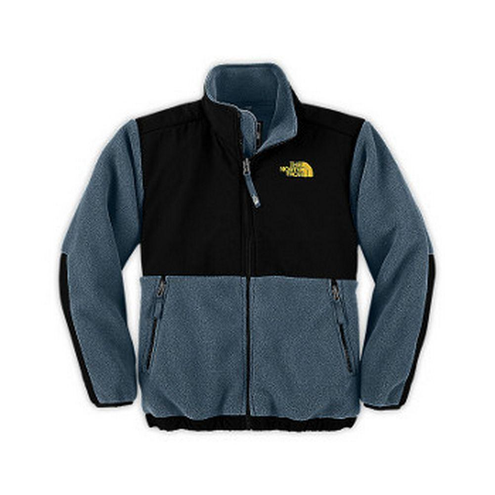 89655a2f0 The North Face Denali Jacket Boys' Blue/Leopard Yellow ...
