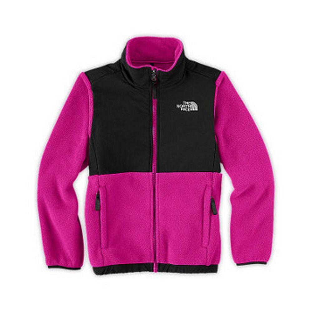 The North Face Denali Jacket Girls' Razzle Pink/Black