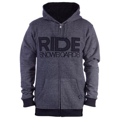 Ride Heathered Full Zip Hoodie Men's