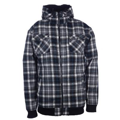 Ride Plaid Full Zip