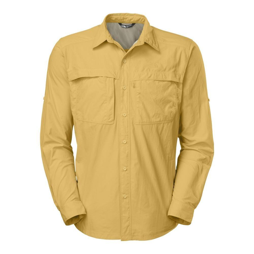 e20b10c4a81 The North Face Long Sleeve Cool Horizon Shirt Men s Misted Yellow
