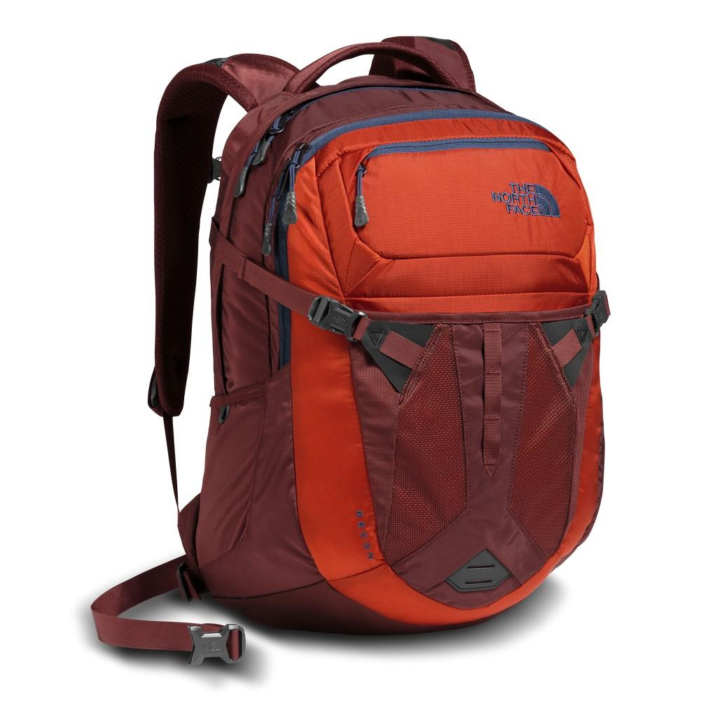 The North Face Recon Backpack Tibetan Orange Sequoia Red ... 509f3103d991