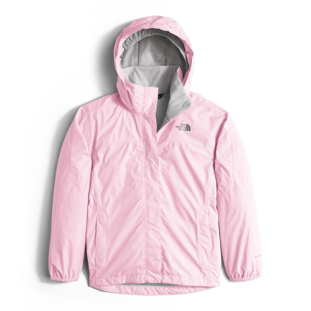 e69fdae3d The North Face Resolve Reflective Jacket Girls' Coy Pink ...