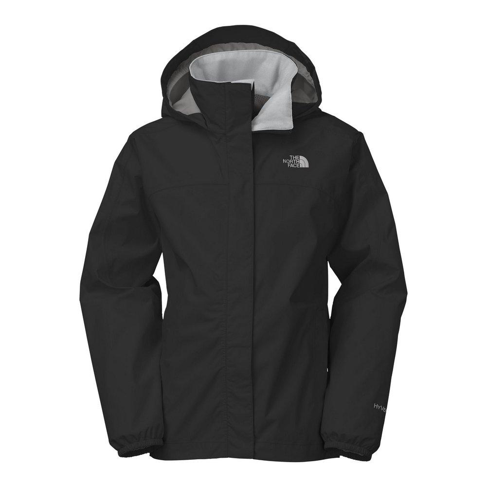 The North Face Resolve Reflective Jacket Girls  TNF Black 68703a7f1