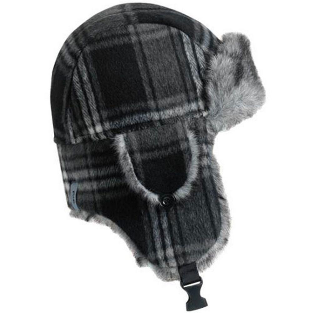 11d334a25d229 Turtle Fur I Am Tartan Trapper Hat Black ...