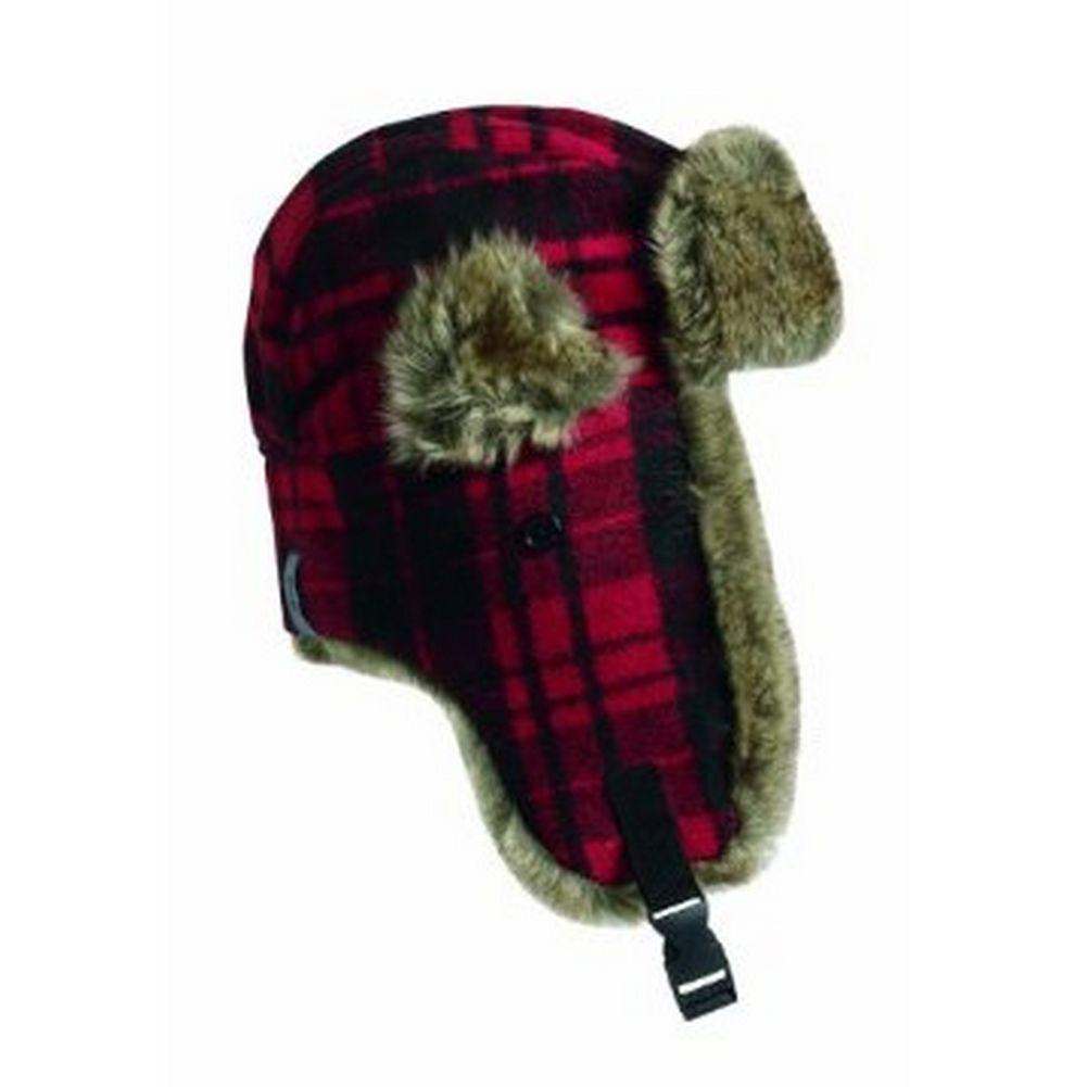 54b972f0e5dab ... Turtle Fur I Am Tartan Trapper Hat Red