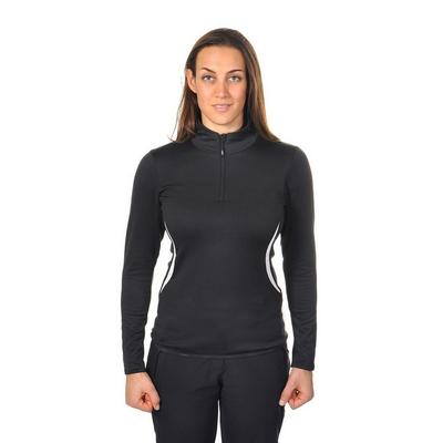 Volkl Women's Silver Fleece Zip Shirt