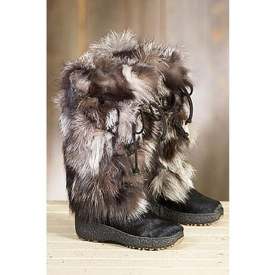 Regina Imports Volpe Plus Fox Fur Boot Women's