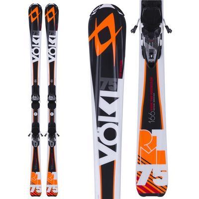 Volkl Rtm 75 Skis With Bindings Men's