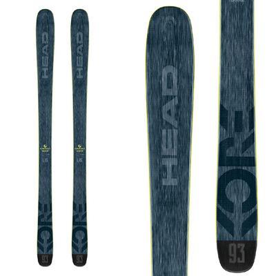 Head Kore 93 Flat Skis Men's