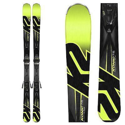 K2 Konic 78 M3 10 System Skis Men's
