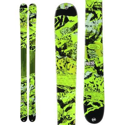 K2 Press Skis 2014