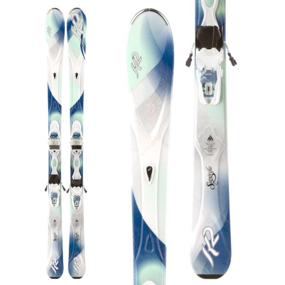 ... K2 Superific Er3 10.0 Women s Skis W Bindings 9e51c8a96