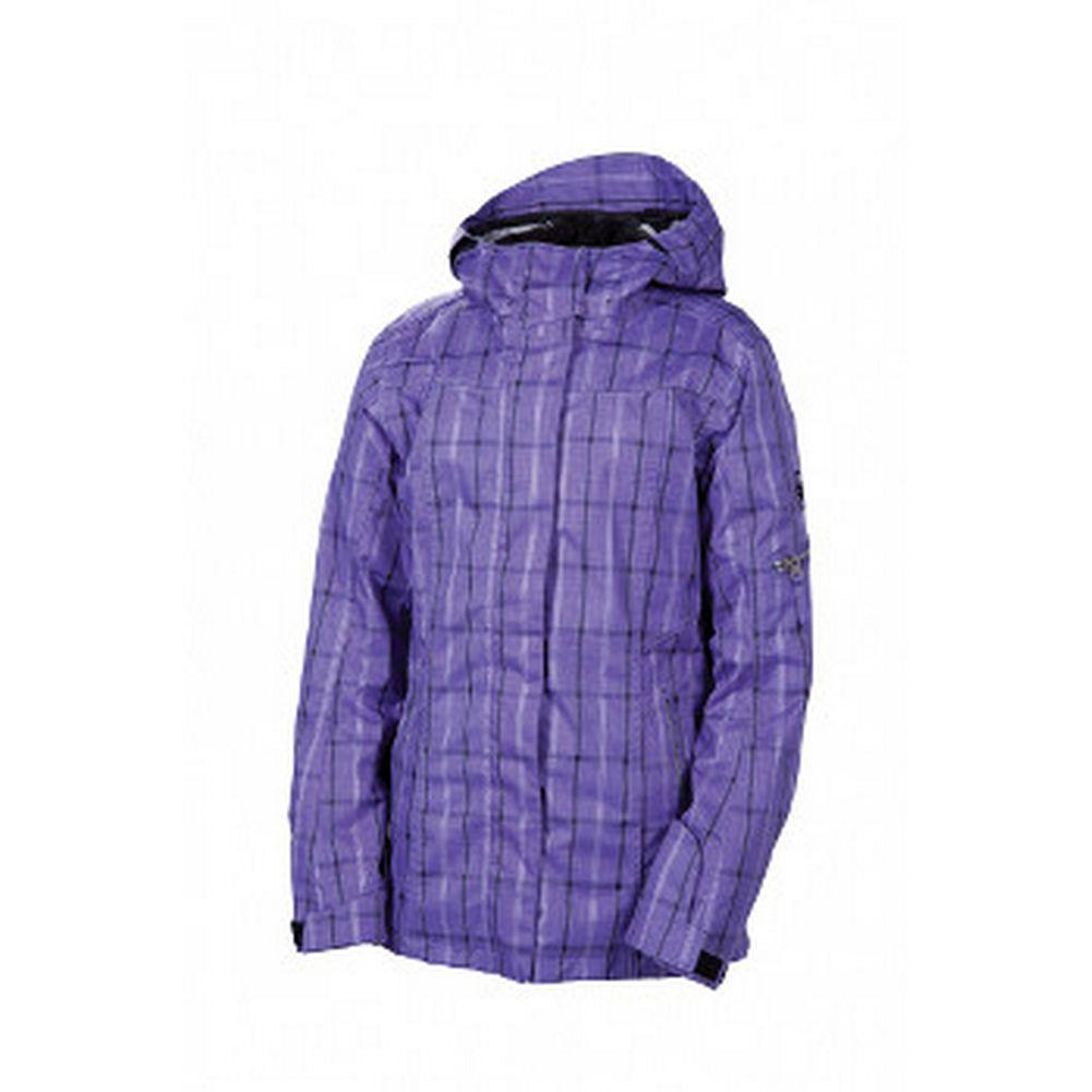 686 Smarty Lattice Insulated Jacket Womens Iris Plaid