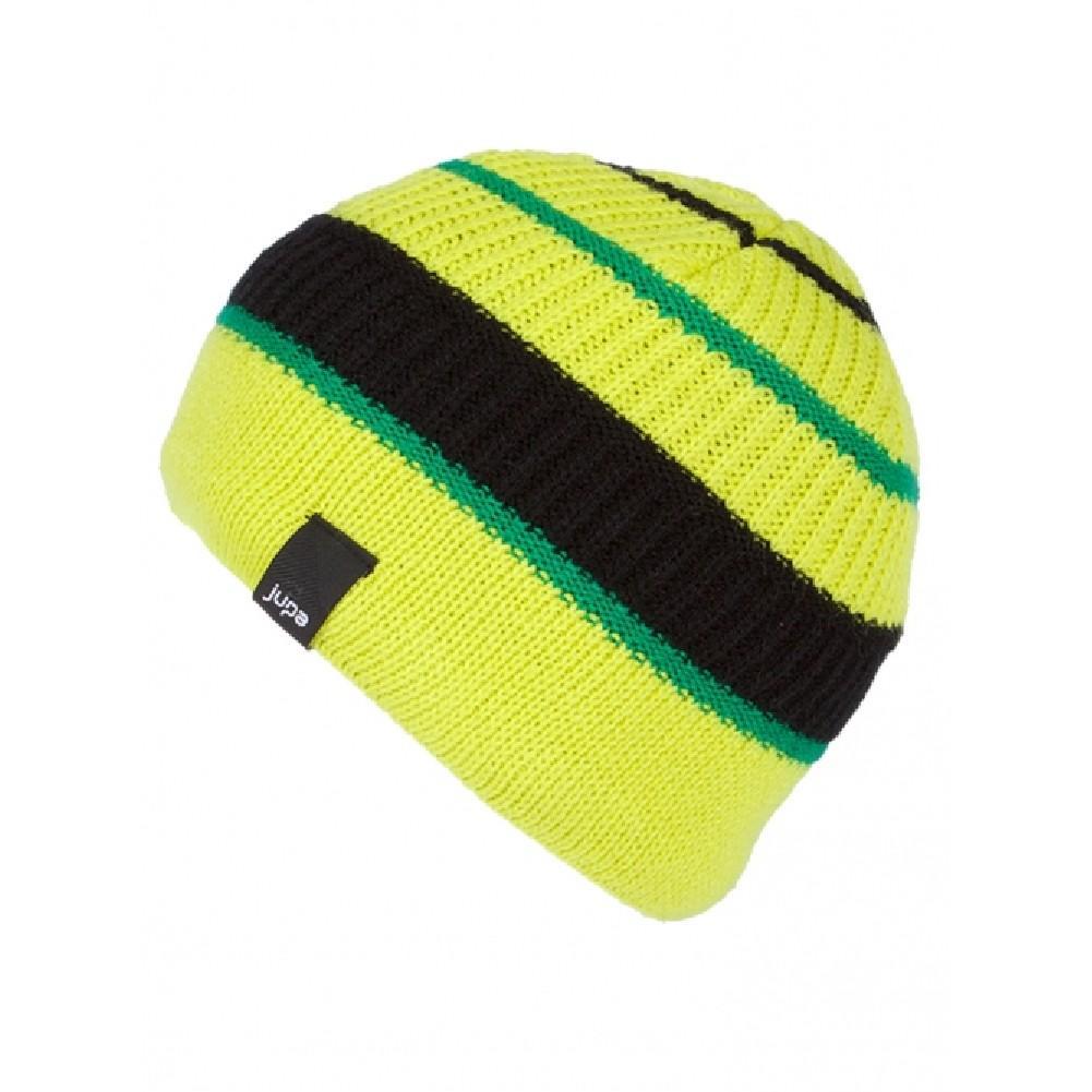 3acbb60db7a Jupa Antony Beanie Boys  Citron-Lime Black Expression Green