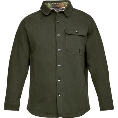 Under Armour Buckshot Fleece Button Up Shirt Men's