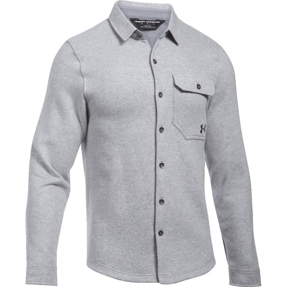 Under Armour Buckshot Fleece Button Up Shirt Men S