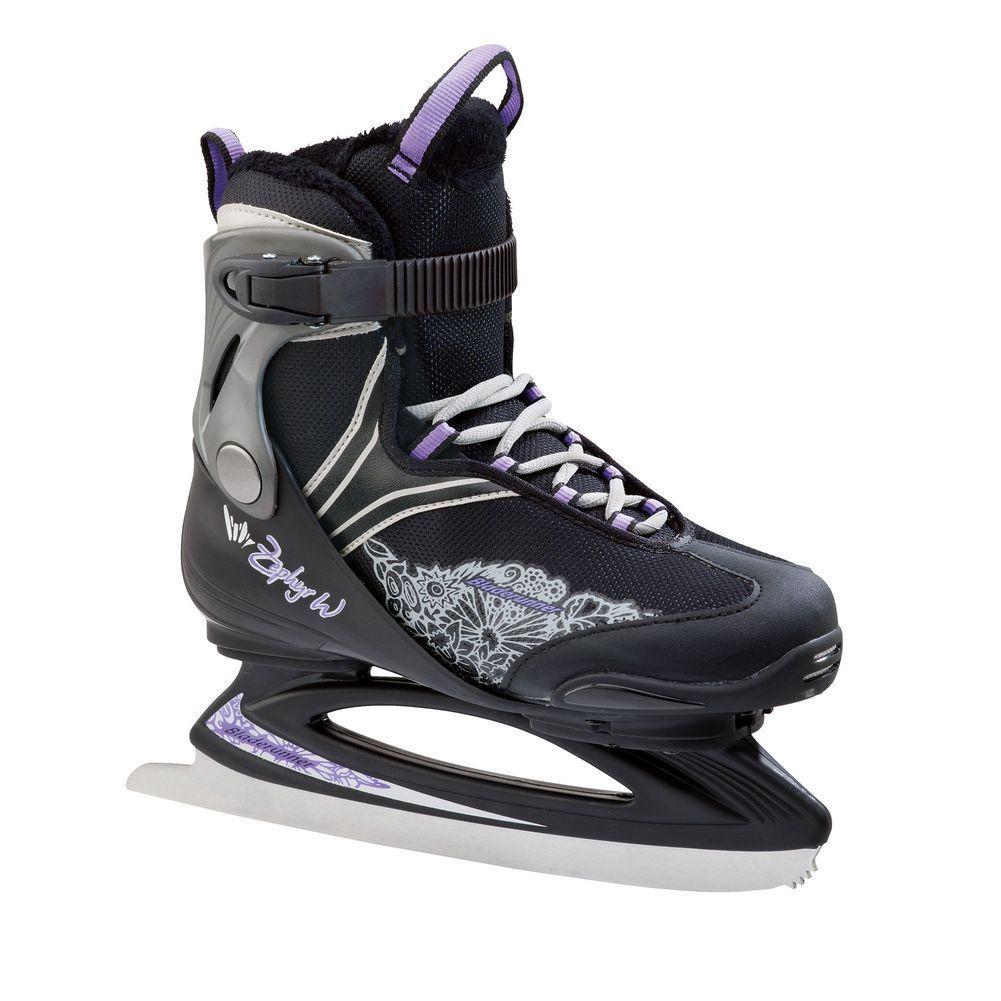 Bladerunner Zephyr Ice Skates Black/Purple Women's
