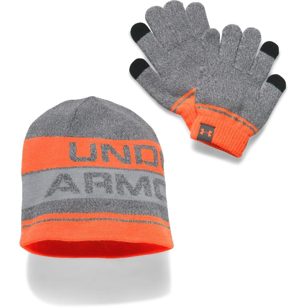 Under Armour Boys Beanie Glove Combo