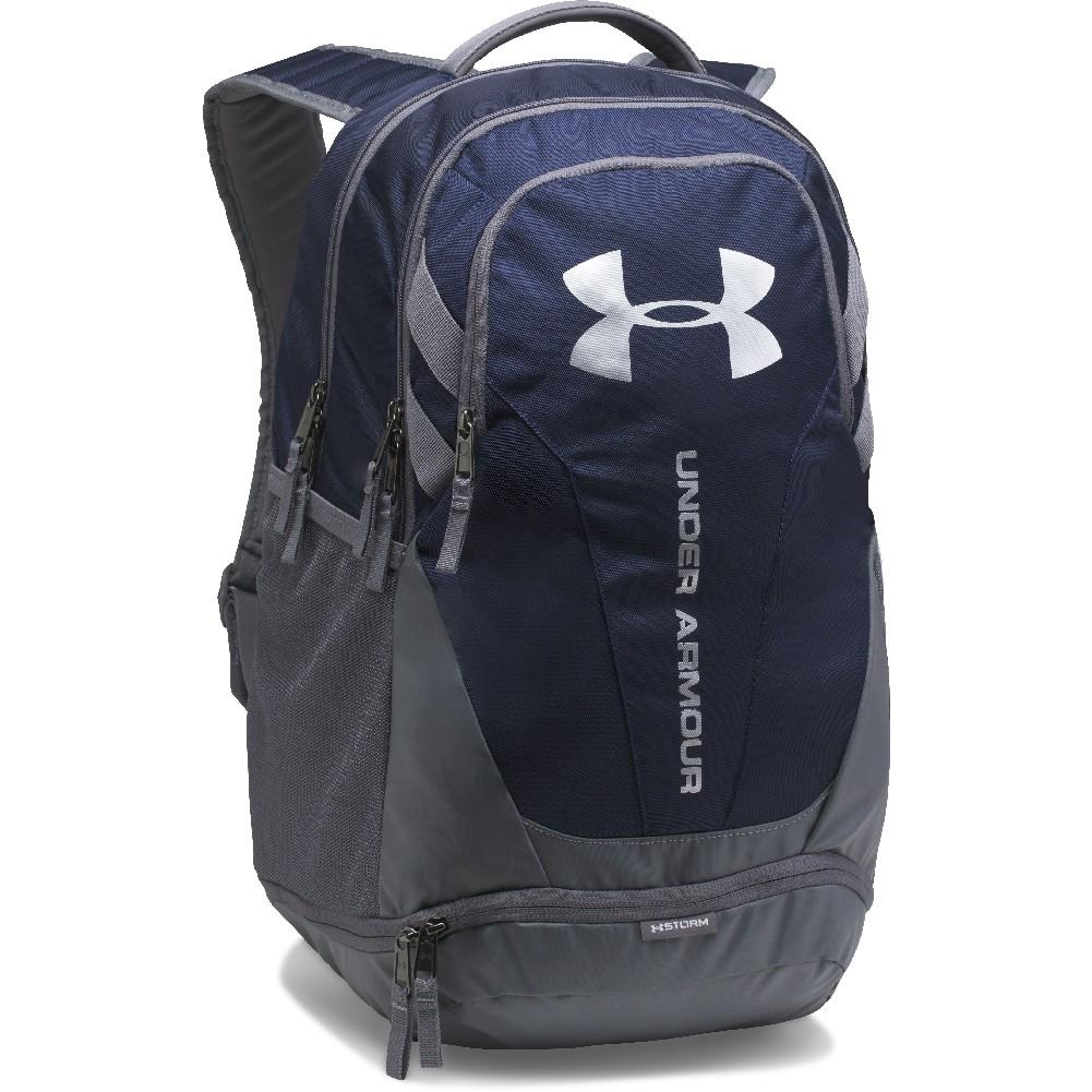 5f6571a4c5 Under Armour UA Hustle 3.0 Backpack MIDNIGHT NAVY/GRAPHITE/SILVER