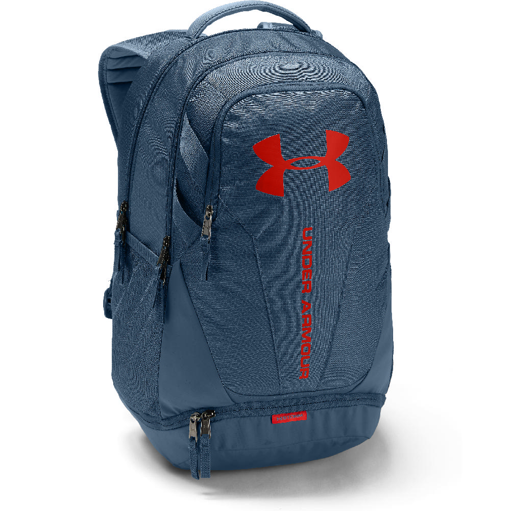 Under Armour Hustle 3.0 Backpack Static Blue Static Blue Radio Red 7e7ff259353a0
