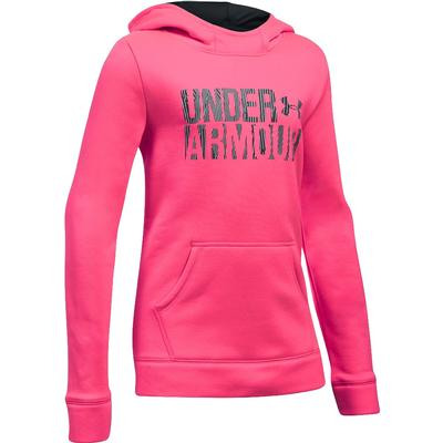 Under Armour Armour Fleece Wordmark Hoodie Girl`s