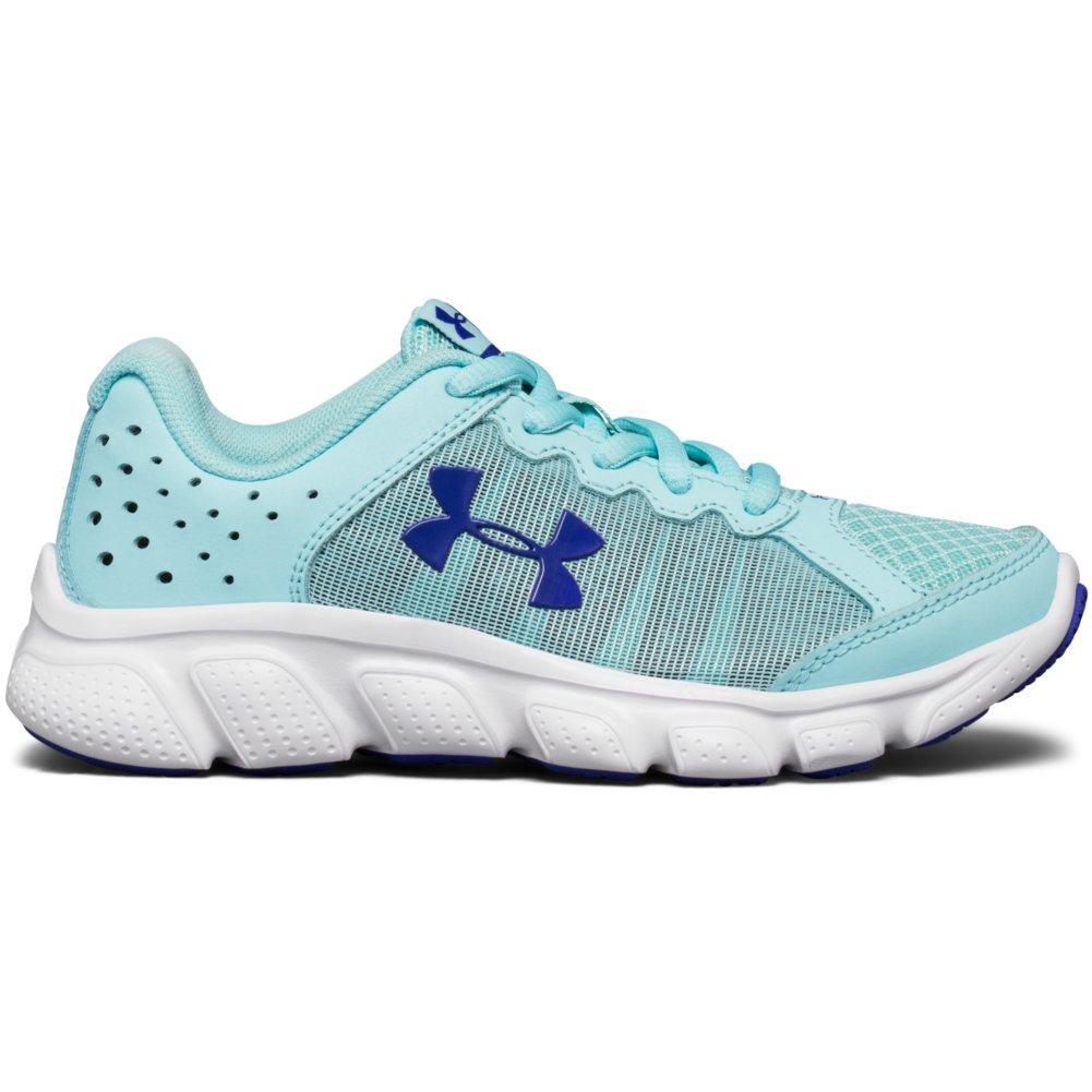 f182397aafd1 Under Armour Preschool Assert 6 Running Shoes Girls  BLUE  INFINITY WHITE CONSTELLATION PURPLE