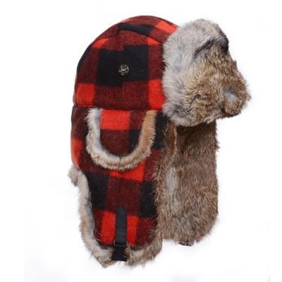 Mad Bomber Lil' Plaid Trapper Hat Kids'