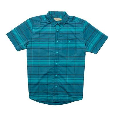 Flylow Nelson Plaid Short Sleeve Shirt Mens