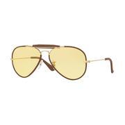 Ray Ban Outdoorsman Craft Sunglasses LEATHER_LIGHT_BROWN