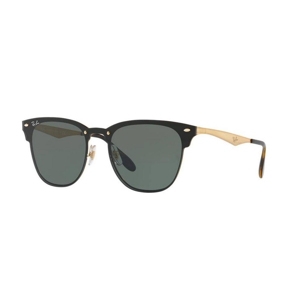 750e9196a1 Ray Ban Blaze Clubmaster Sunglasses BRUSCHED GOLD
