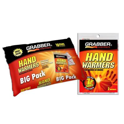 Grabber Hand warmer 10 Pair Pack