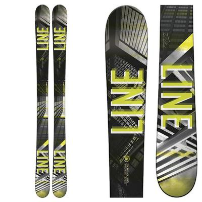 Line Wallisch Shorty Flat Skis Boys'