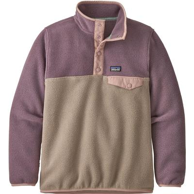 Patagonia Lightweight Synch Snap-T Pullover Fleece Top Girls'