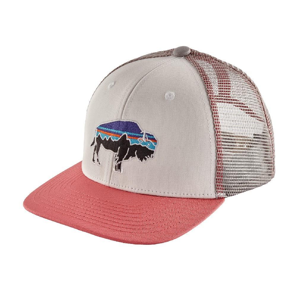 90d9f5cefee05 Patagonia Trucker Hat FITZ ROY BISON  WHITE ...
