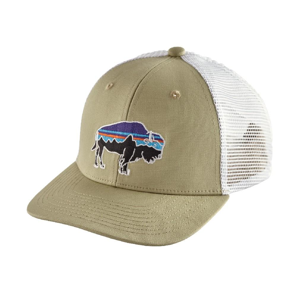 51449fee Patagonia Trucker Hat FITZ ROY BISON: WEATHERED STONE