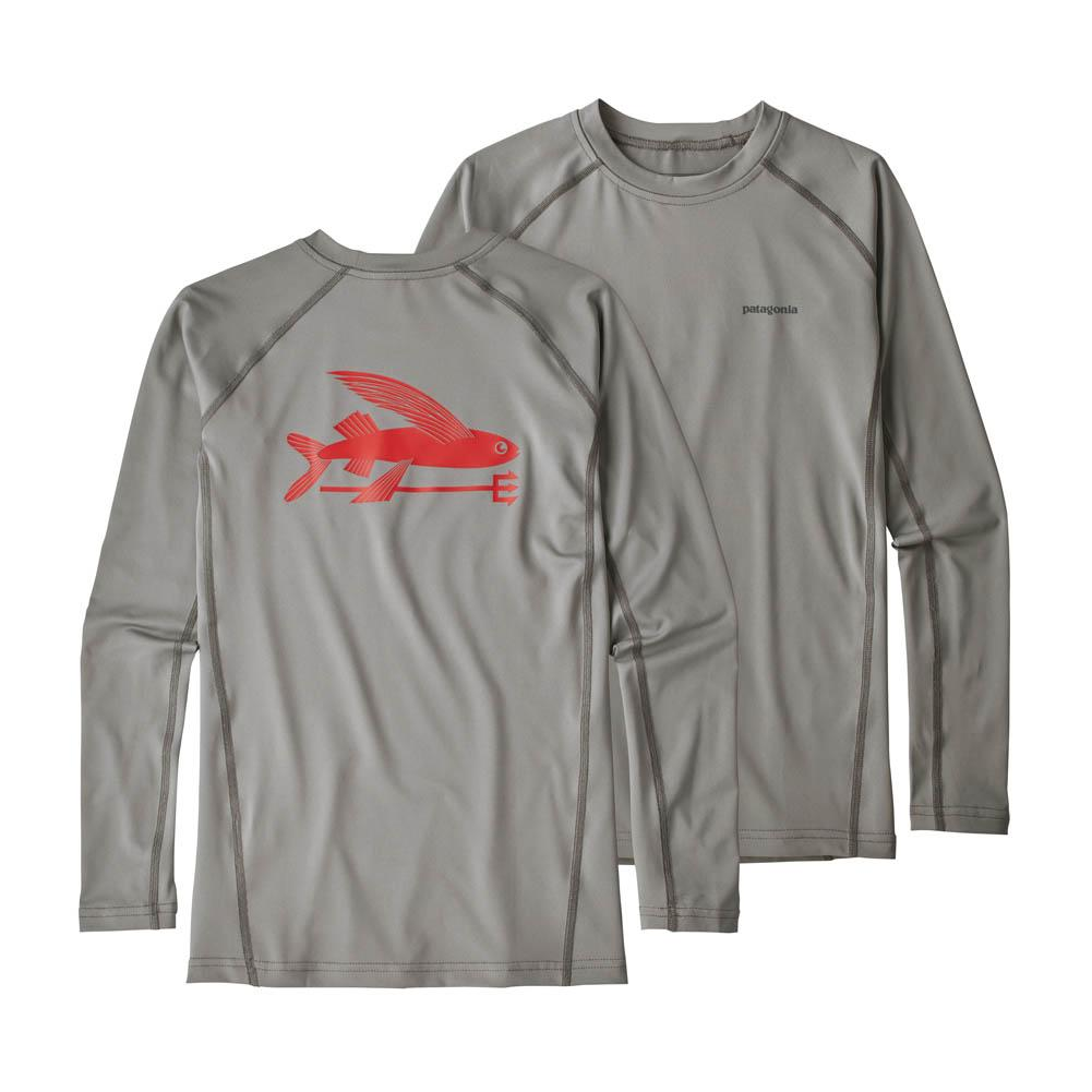 Patagonia Long- Sleeve Silkweight Rashguard Boys '