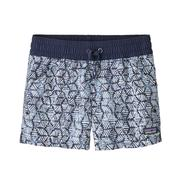 Patagonia Costa Rica Baggies Shorts Girls' BATIK HEX: CLASSIC NAVY