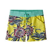 Patagonia Costa Rica Baggies Shorts Girls' CEREUS FLOWER: SPIRE YELLOW