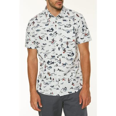 ONeill Squawk Short Sleeve Button Up Shirt Mens