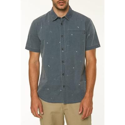 ONeill Kruger Short Sleeve Button Up Shirt Mens