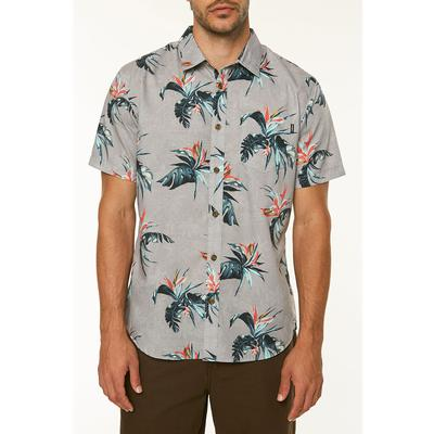 ONeill Islander Short Sleeve Button Up Shirt Mens