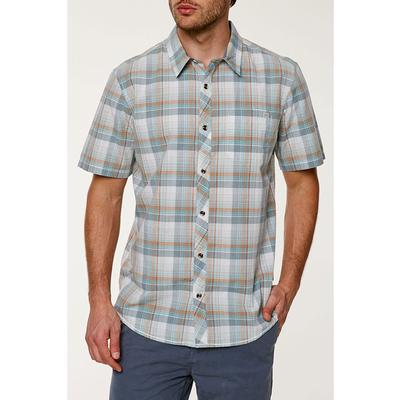 ONeill High Tide Short Sleeve Button Up Shirt Mens