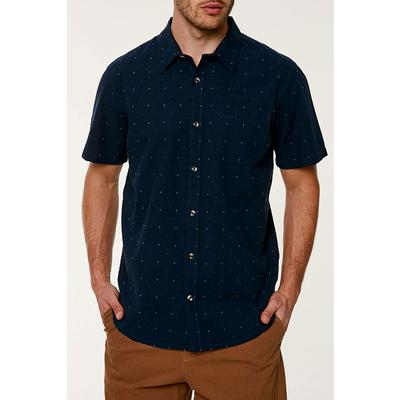 ONeill Roadtrip Short Sleeve Button Up Shirt Mens