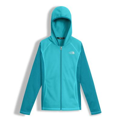 The North Face Tech Glacier Full Zip Hoodie Girls'