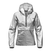 The North Face Crew Run Wind Anorak Women's SHINY SILVER METALLIC