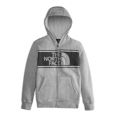 The North Face Logowear Full Zip Hoodie Boys'