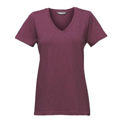 The North Face Short Sleeve Sand Scape V-Neck Tee Women's