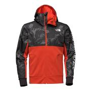 The North Face Train N Logo Overlay Jacket Men's POINCIANA ORANGE