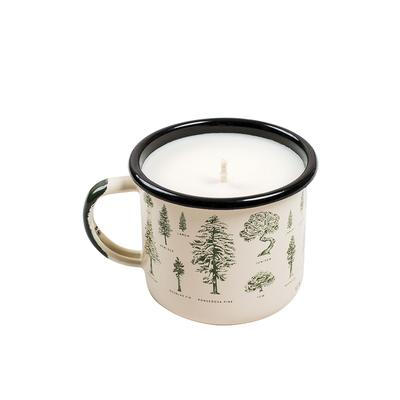 United By Blue Enamel Mug Candle
